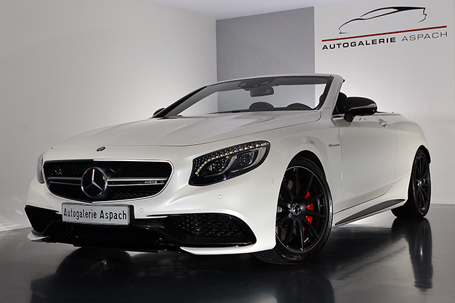 Mercedes S63 AMG Cabriolet | Night-Package